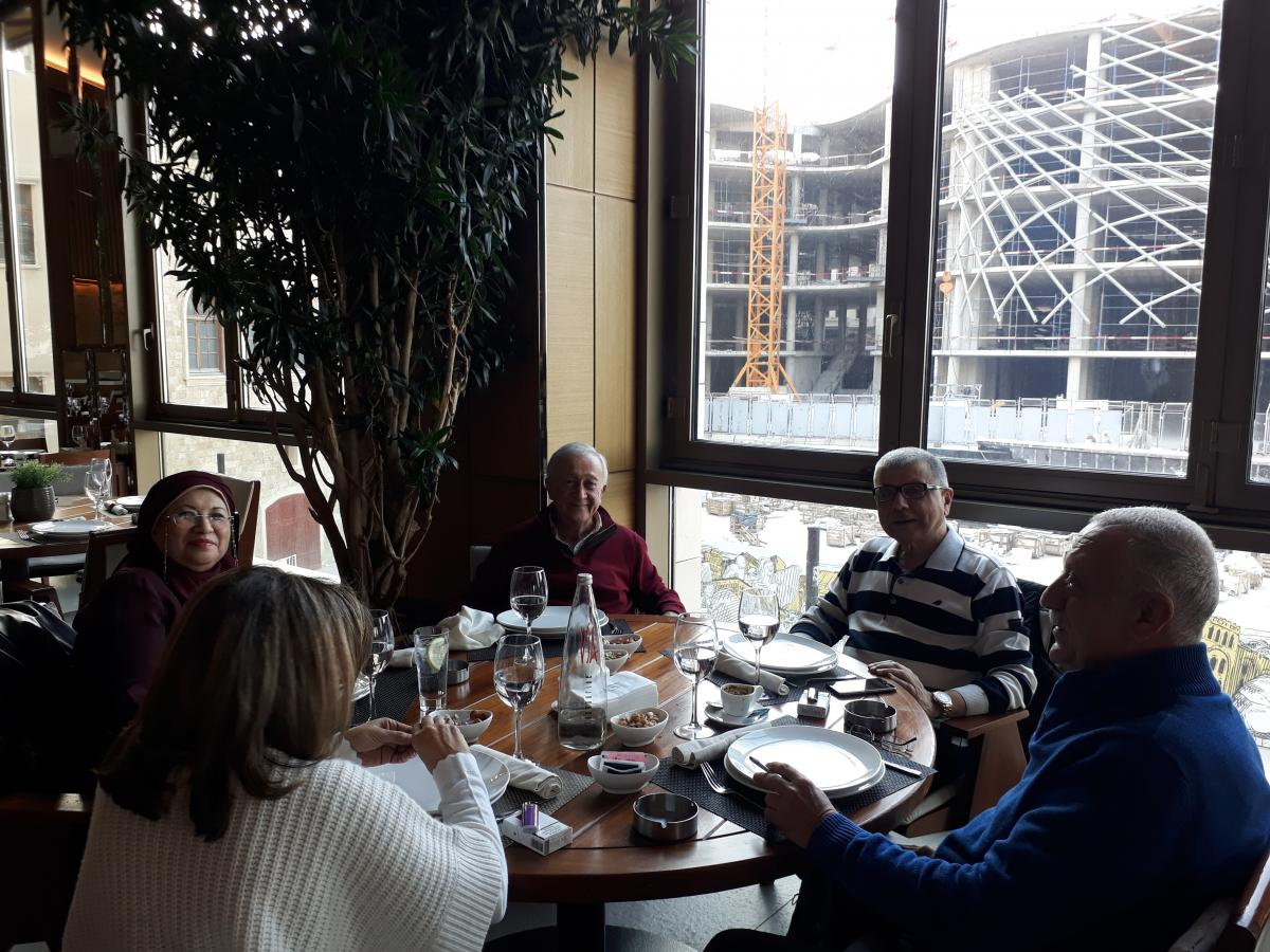 Zouhair Lunch in Sulatn Ibrahim
