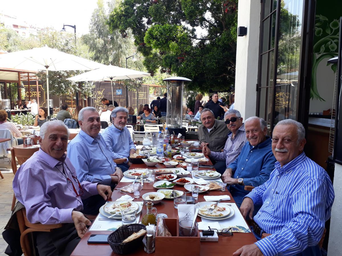 Rafic Lunch at Onno Restaurant