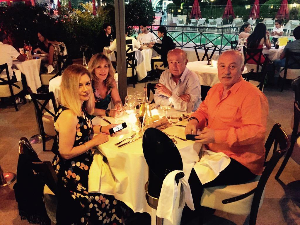 Safwan Diner La Petitie Maison Restaurant in Cannes