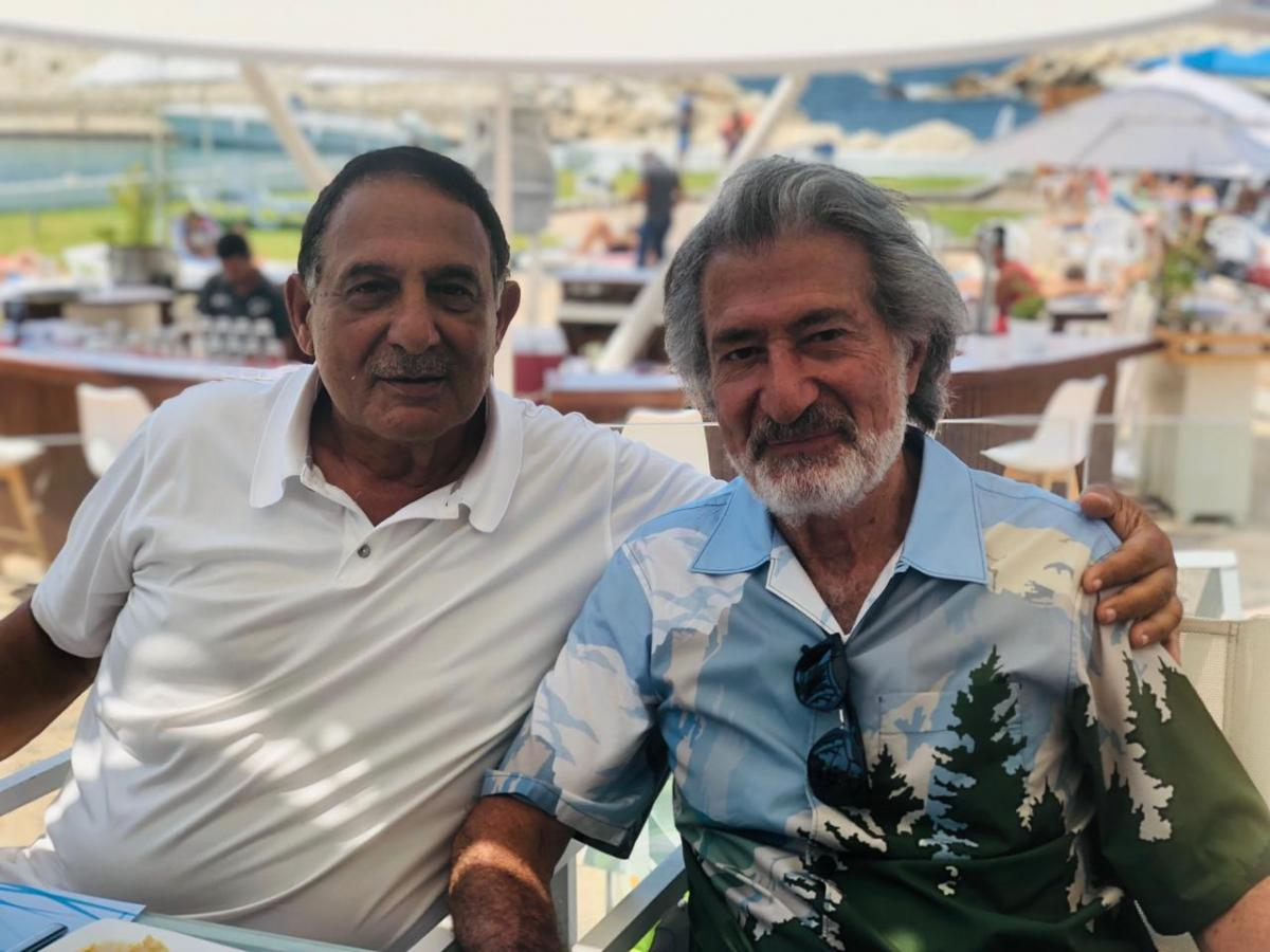 Joseph Chikhani Lunch Party at Las Salinas